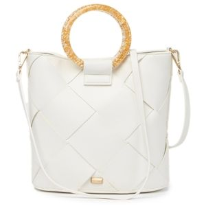 Betsey Johnson Crossbody white Bag